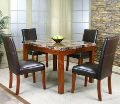 marble dining room table set brown marble dining table brown