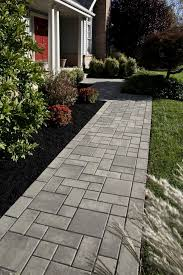 Paved Backyard Ideas Design Front Yard Pavers Best 25 Paver Walkway Ideas On