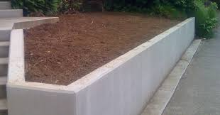 Retaining Wall Calculator And Price Concrete Retaining Wall Cost Crafts Home