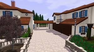 mod the sims spanish estate