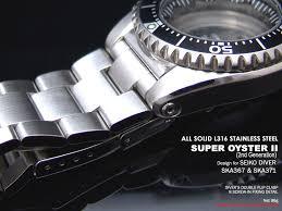 bracelet titanium seiko images 20mm super oyster watch band for seiko diver ska367 jpg