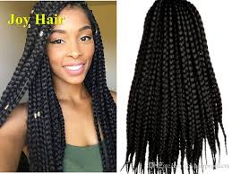22 inch extensions 2018 pretwist 3s crochet 3x box braids hair extensions syntheic