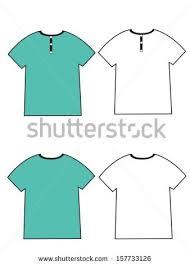 apparel shirts template tshirt templates stock vector 157733120