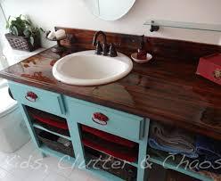 cheap bathroom countertop ideas diy home home 9 amazing diy kitchen countertop ideas
