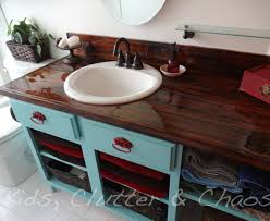 bathroom counter top ideas diy home home 9 amazing diy kitchen countertop ideas