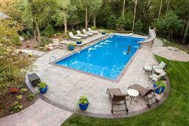 Backyard Swimming Pool Landscaping Ideas 16 Amazing Swimming Pool Slides