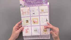 hunkydory crafts hunkydory filigree frames floral watercolours collection by
