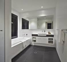 Gray And Black Bathroom Ideas by Dark Grey Is Similar To Black So It Is Usually Combined With The