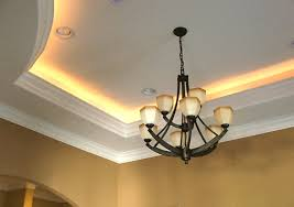 Tray Ceiling Definition Tray Ceiling With Lighting Basement Pinterest Tray