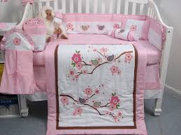 Infant Crib Bedding Soho Birds Story Baby Crib Nursery Bedding Set