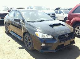 subaru black friday sale salvage 2016 subaru wrx sedan for sale clean title