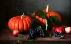 pumpkin phone wallpaper misc still life fall season autumn harvest photography grapes