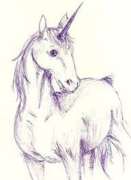 easy to draw anime unicorn horses how to draw unicorns step 8