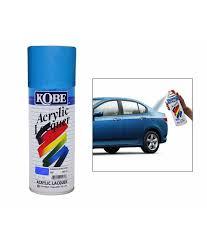 spedy kobe car touchup spray paint 450ml blue maruti celerio buy
