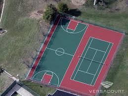 Sports Courts For Backyards Best 25 Backyard Tennis Court Ideas On Pinterest Backyard