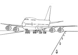 747 airplane coloring u0026 coloring book