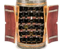 barrel wine rack etsy