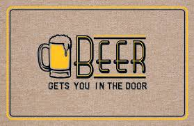 beer welcome mat funny welcome mats and how to benefit from them