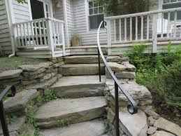 exterior wrought iron stair railing kits outdoor wrought iron
