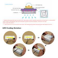 ac 220v 30w 50w 70w 100w led cob spotlight bulb led integrated