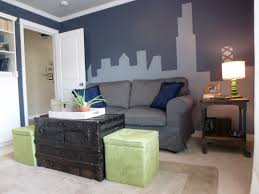 gray paint color with black combination large window for new
