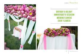 Flowers Information - general information flower box
