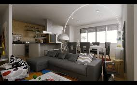 inspirational deluxe living room gray tones studio apartment