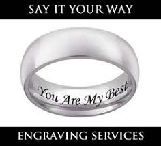 Engraving Services Engraving Services Mens U0026 Womens Tungsten Carbide Wedding Rings