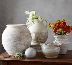 Decoration Vase Decorative Vases U0026 Faux Flowers Pottery Barn