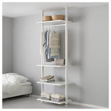 elvarli open storage unit white 92x51x222 350 cm ikea bedroom