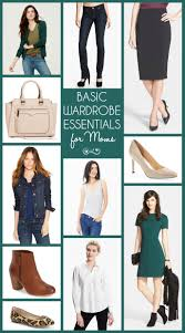 Wardrobe Clothing 10 Basic Wardrobe Essentials For Moms