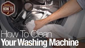 how to clean your washing machine youtube