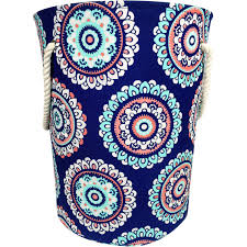 Canvas Laundry Hamper by Mainstays Canvas Laundry Hamper With Rope Handles Multiple Colors