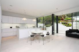 Designer White Kitchens Kitchen Trends 2016 All White Kitchen In Polar White Satin