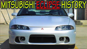 mitsubishi eclipse history youtube