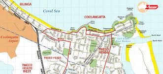 Sea Airport Map Coolangatta Maps