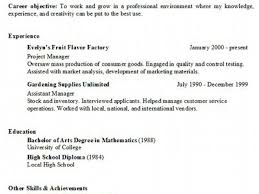 Marketing Objective Resume An Elementary Essay On The Computation Of Logarithms Resume
