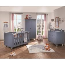 chambre bebe noukies commode 3 tiroirs noukies blue mountains babydrive