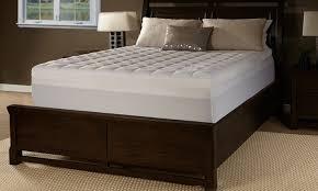85 off on lux comfort foam mattress topper groupon goods