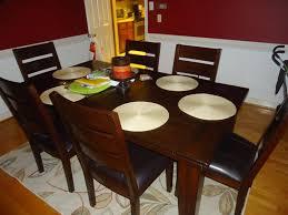 ashley furniture dining room sets ashley larchmont dark brown dining room table ashley furniture
