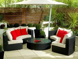 Curved Wicker Patio Furniture - large size outdoor sofa set new design garden furniture large