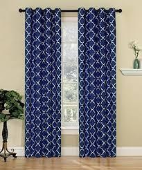 Geometric Orange Curtains Geometric Pattern Curtains Amazon Com