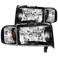2001 dodge ram headlights amazon com 1994 2001 dodge ram headlights corner signal ls