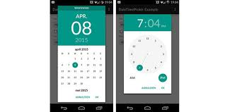 timepicker android datepicker for android lt 4 4 new demo ionic