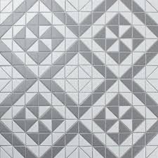 2 u0027 u0027 matte grey white triangle tile warehouse sale porcelain
