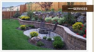 Retaining Wall Ideas For Sloped Backyard Best Retaining Wall Backyard Landscaping Ideas 1000 Images About