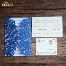 Thailand Wedding Invitation Card Online Buy Wholesale Creative Wedding Invitations From China