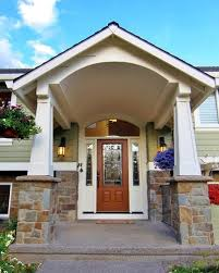 front porch designs for split level homes split level homes before and after visit houzz garage