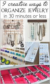 Jewelry Storage Solutions 7 Ways - 722 best jewelry organization images on pinterest jewelry