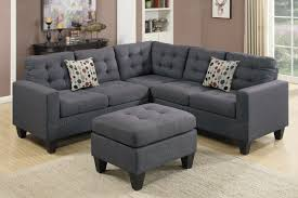 Chenille Sectional Sofas by Grey Fabric Sectional Sofa And Ottoman Steal A Sofa Furniture